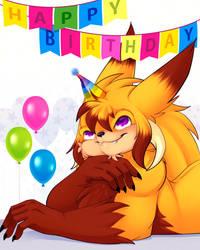 Demon Euan - Birthday gift