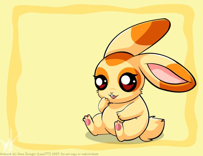 .::Creamy Bunny::. by luna777