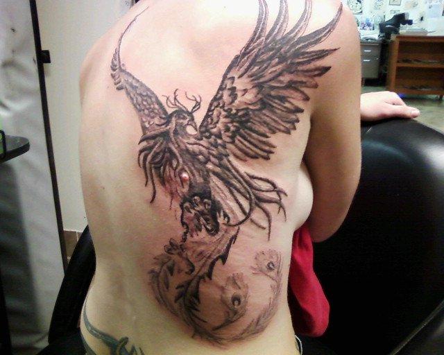 phoenix by TwoToneTattoo