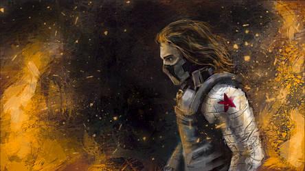 Winter Soldier - III by SkyManateeStudios