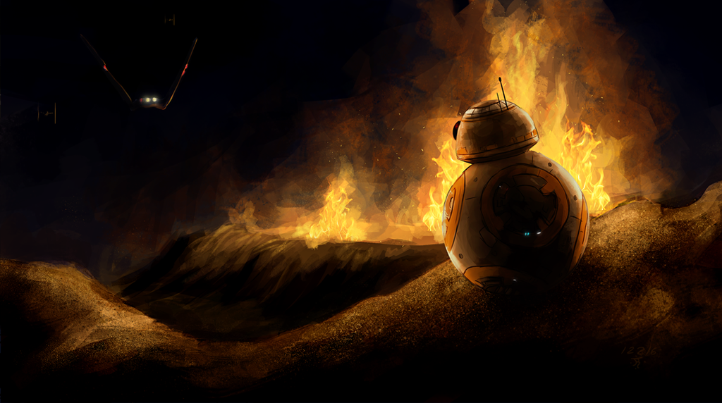 Star Wars - BB8 by Jay-R-Took