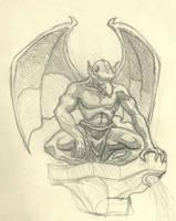 Gargoyle by CranialTyrant