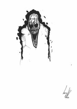 El Afilador_Illustration for the novel Sirope