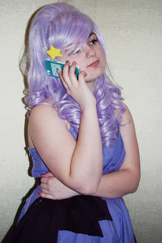 SH! I'm on the phone!! :: Lumpy Space Princess