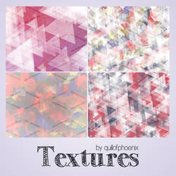 Colorful Triangle Textures by quillofphoenix