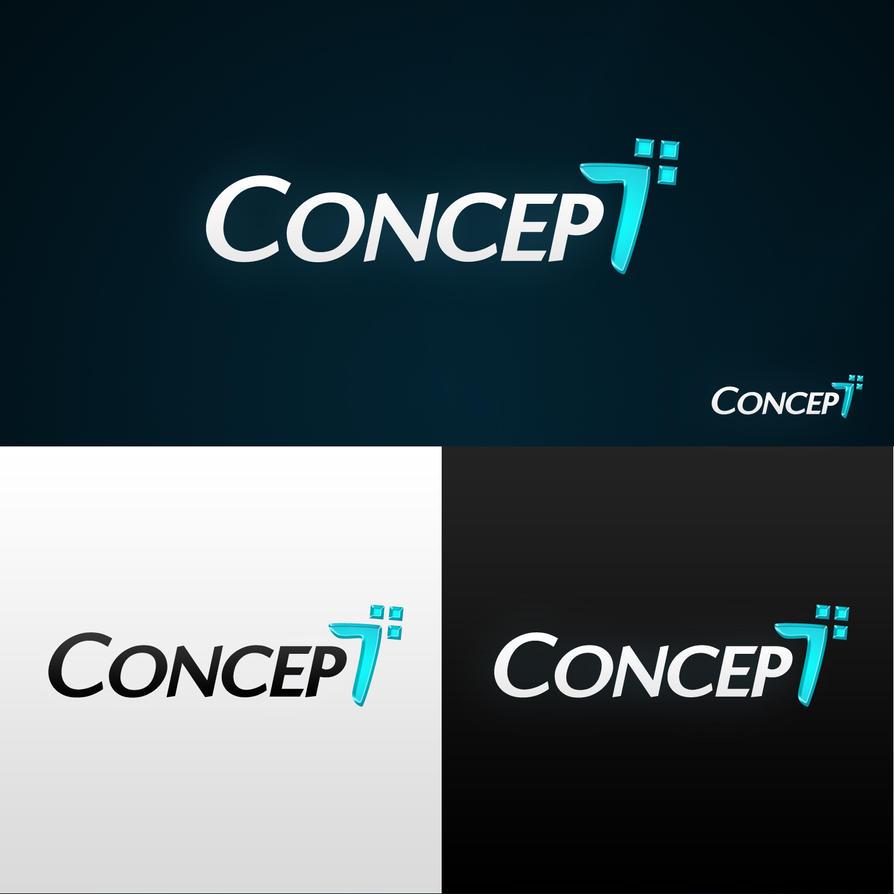 concept7 logo design by gillesvalk on deviantart