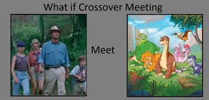 If Jurassic Park meet Land Before Time?