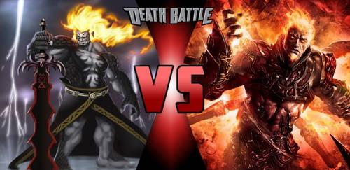 Demise Vs Ares (God of War)