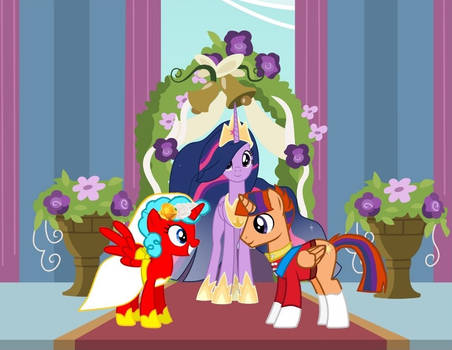 The wedding of Solar and Sweetie