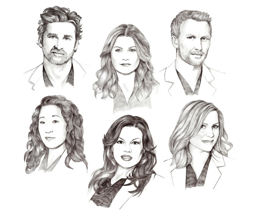 Greys Anatomy Coloring Pages Coloring Pages