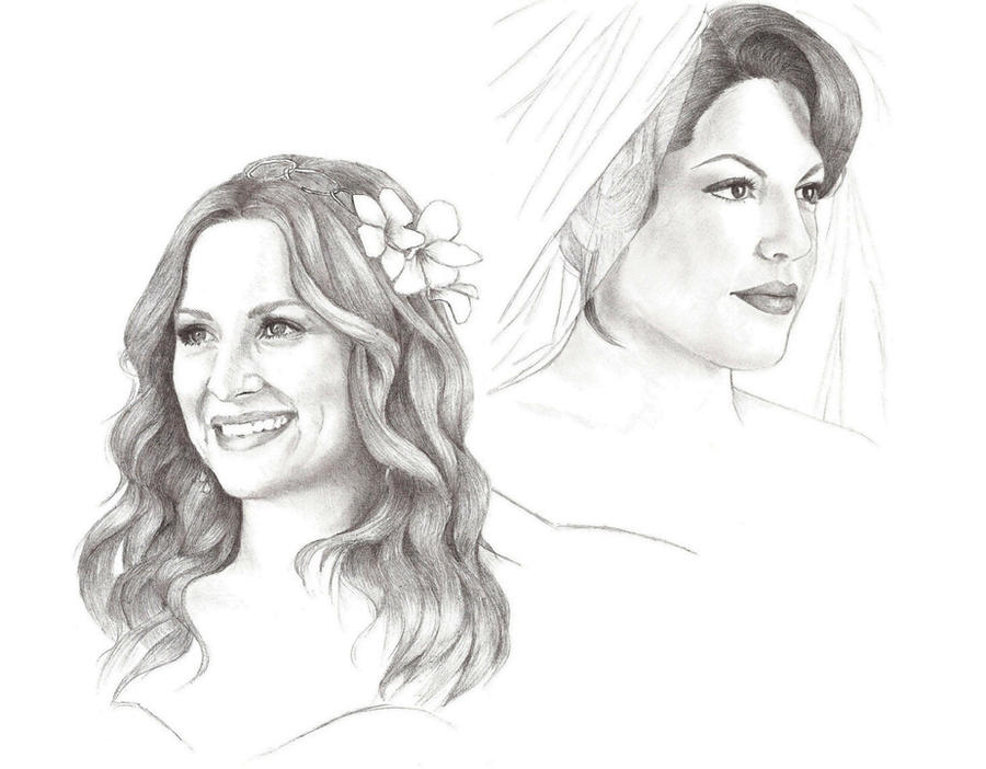 Drawing Lines Grey S Anatomy : Arizona robbins and callie torres by lady hannah on deviantart