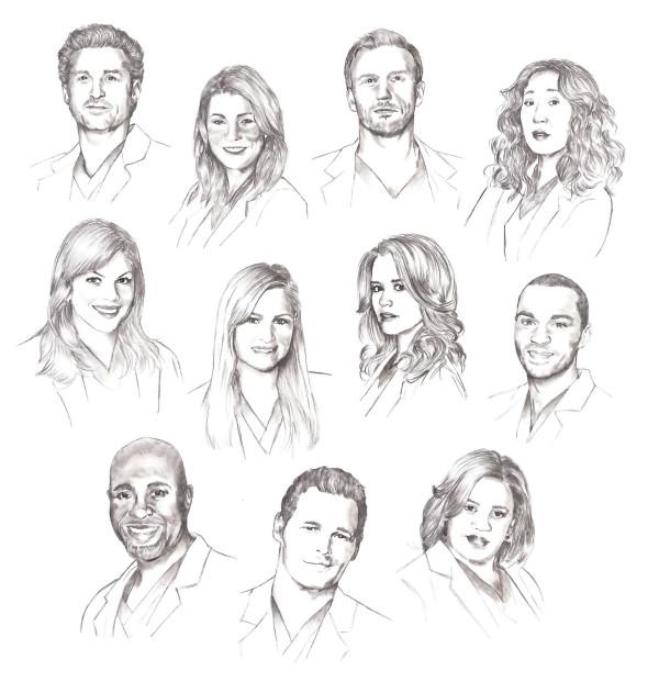 Drawing Lines Grey S Anatomy : Grey s anatomy season by lady hannah on deviantart