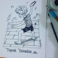Inktober Day 1: Tupak Tsinelas by melcasipit