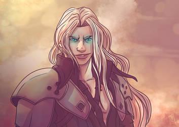 Don't take Sephiroth lightly... by BirdBlackSocial