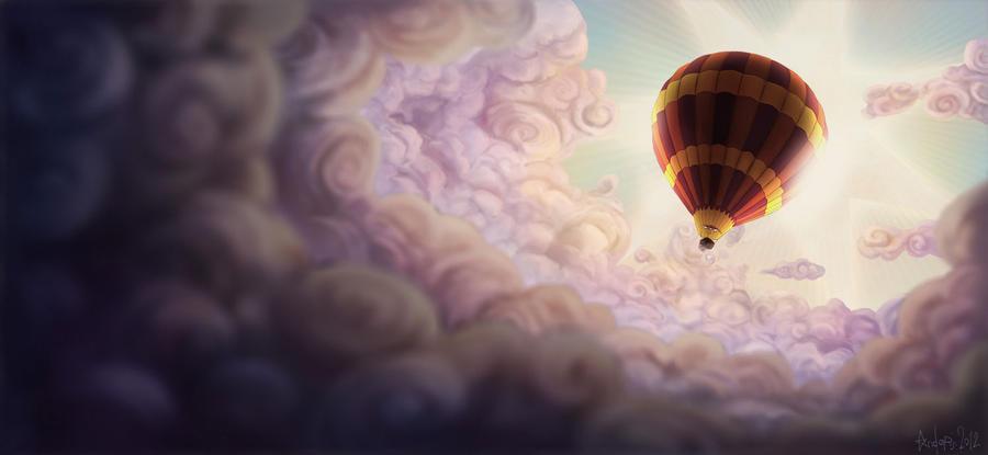 Hot Air Balloon by agoliversen
