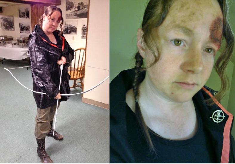 I Volunteer As Tribute Katniss Arena Costume By Slayer730 On Deviantart What does volunteer as tribute mean? i volunteer as tribute katniss