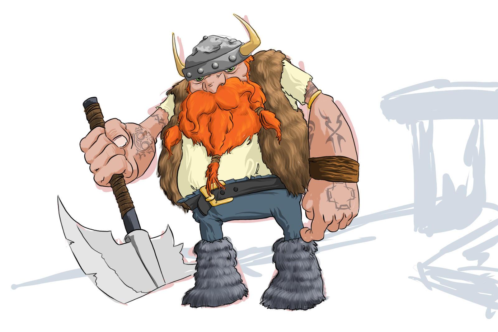 viking red beard by tengstrom on deviantart