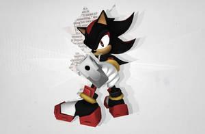 MMD: Shadow the Hedgehog by tweekcrystal