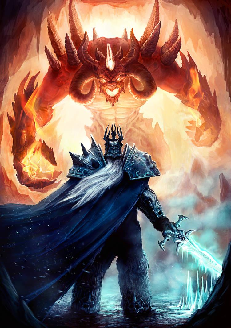 Diablo vs Arthas by JakeRowlands