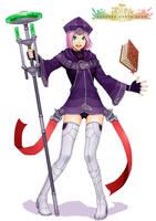 FEZ Sorceress by chopstickmadness