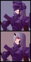 dark knight by chopstickmadness