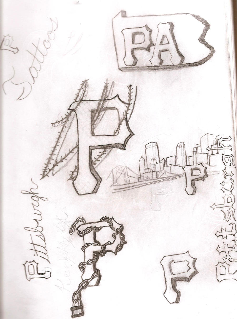 Pittsburgh tattoos by jayred17 on deviantart for Tattoo shops in pittsburgh pa