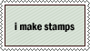 i make stamps by YourOwnArt