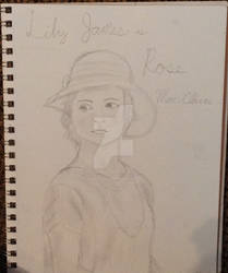 Lily James as Rose MacClare by Artistwolf16