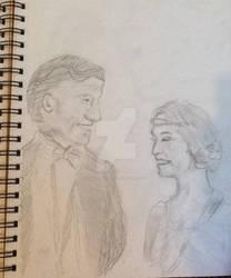 Atticus and Rose Aldridge by Artistwolf16