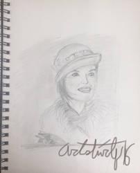 Lady Mary Crawley by Artistwolf16