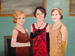 Rose, Mary, and Edith (Downton Abbey)