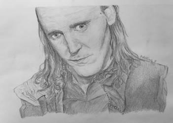 Loki Laufeyson by Artistwolf16