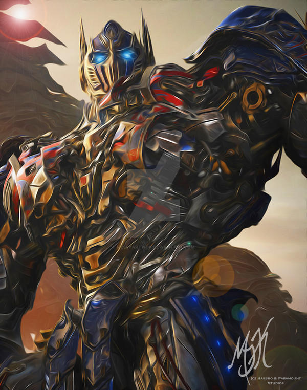 Transformers: Age of Extinction - Optimus Prime by MessyArtwok on ...
