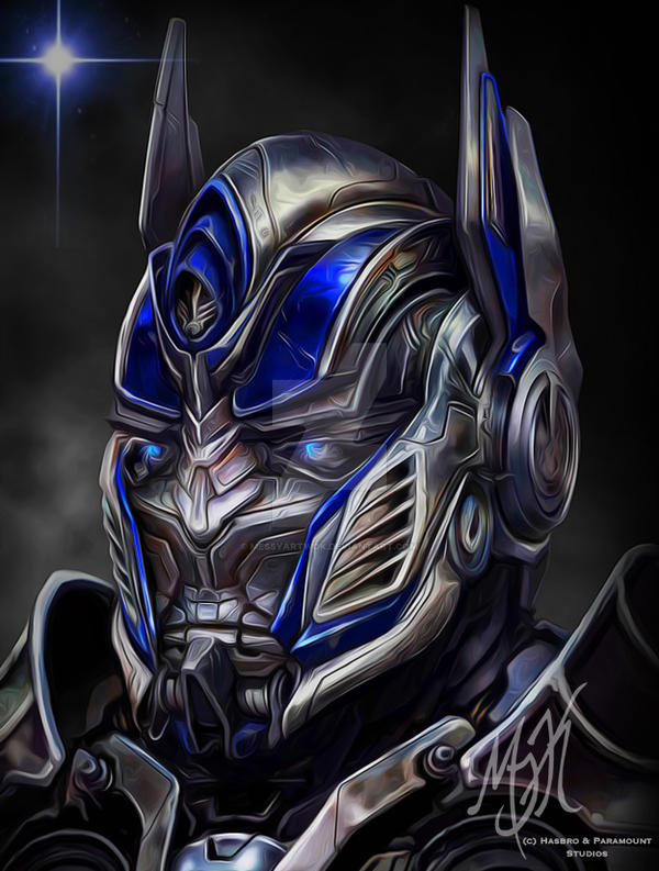 Transformers Optimus Prime Face Painting