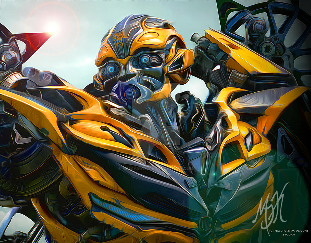 Transformers: Age of Extinction - Bumblebee by MessyArtwok ...