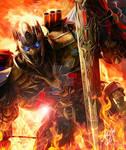 TF AOE Optimus Prime: Into the Fire