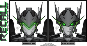 TFP: OC Recall - Facial Reference by MessyArtwok