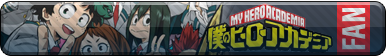 My Hero Academia Fan-Button
