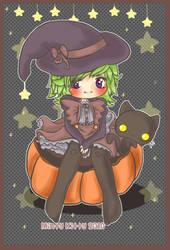 Happy Halloween by Minty-Kitty-Art