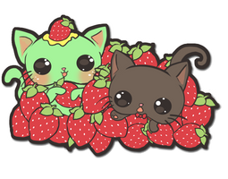 Minty and George by Minty-Kitty-Art