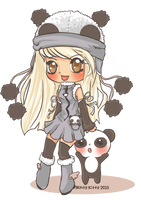 Chibi1panda trade re-do by Minty-Kitty-Art