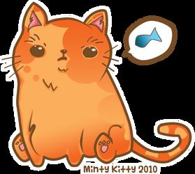 Fat Catten by Minty-Kitty-Art