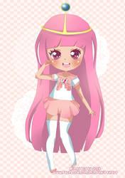 Princess Bubblegum by Minty-Kitty-Art