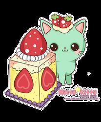 Minty Cake by Minty-Kitty-Art