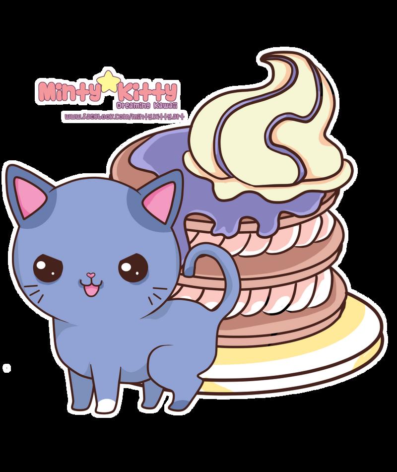 Pancakecake by Minty-Kitty-Art