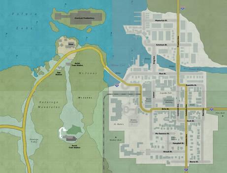 Silent Hill Downpour Full map