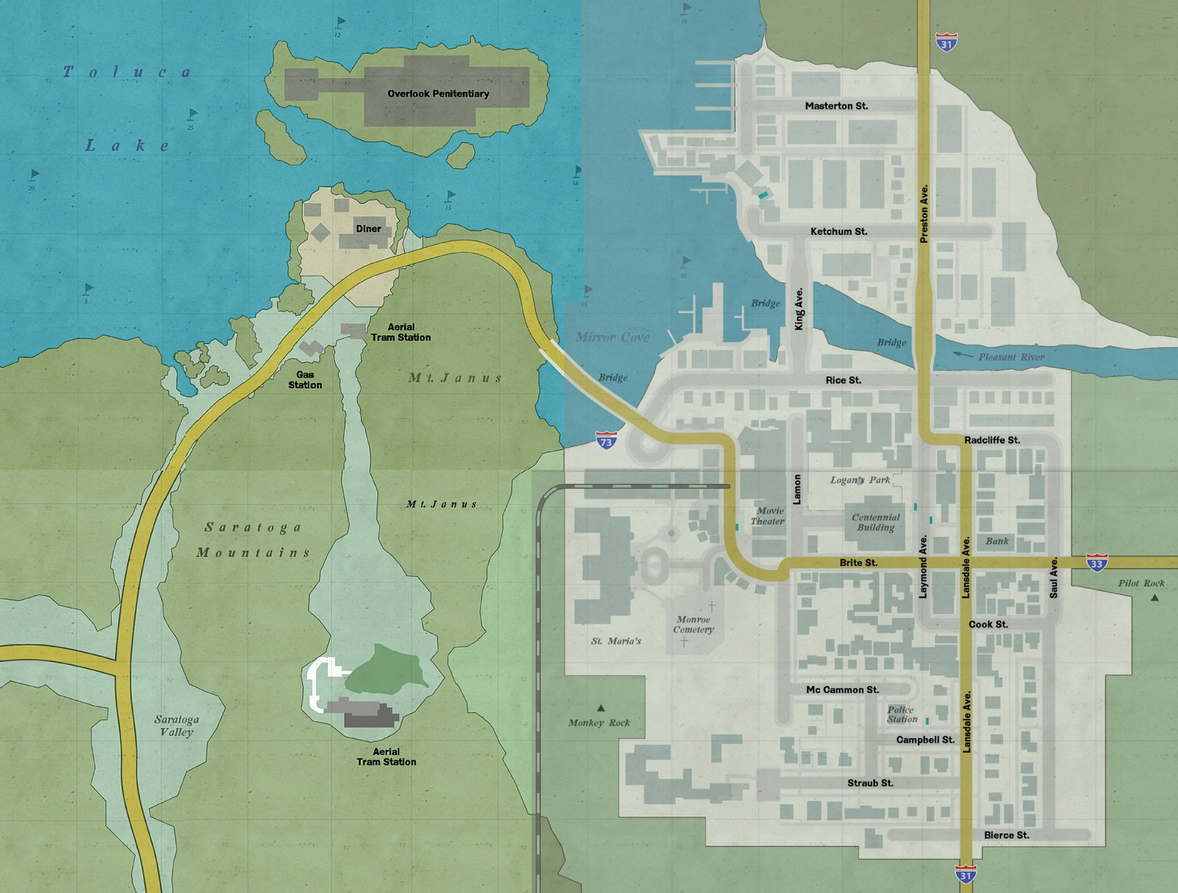 Silent Hill Downpour Full Map By 10of13 On DeviantArt
