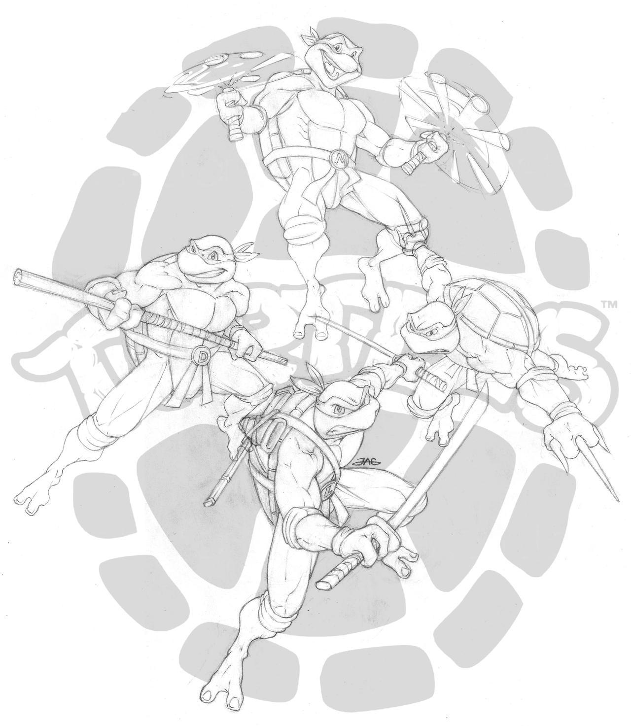 Mis dibujos: Las Tortugas Ninja - Arte - Taringa!