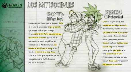 Ronta y Renzo OC's