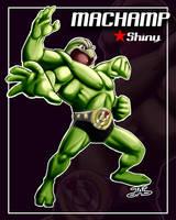 MACHAMP SHINY by JAG-Comics
